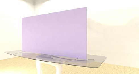 Acrylic Sheets – Cut To Size –  Opaque Light Periwinkle Purple – S140