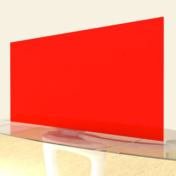 Acrylic Sheets – Cut To Size –  Opaque Red – S2362