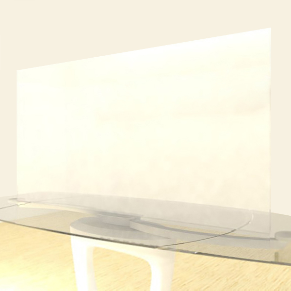 Acrylic Sheets – Cut To Size – Single Frosted Clear – P95