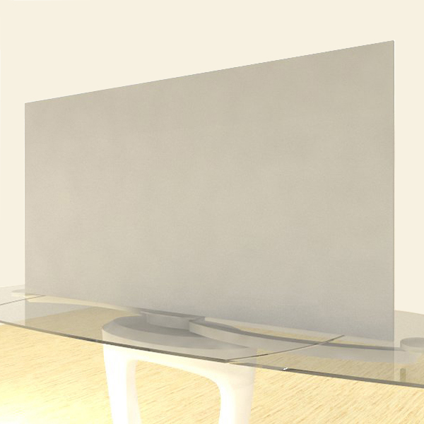 Acrylic Sheets – Cut To Size –  Opaque Light Gray – S2347