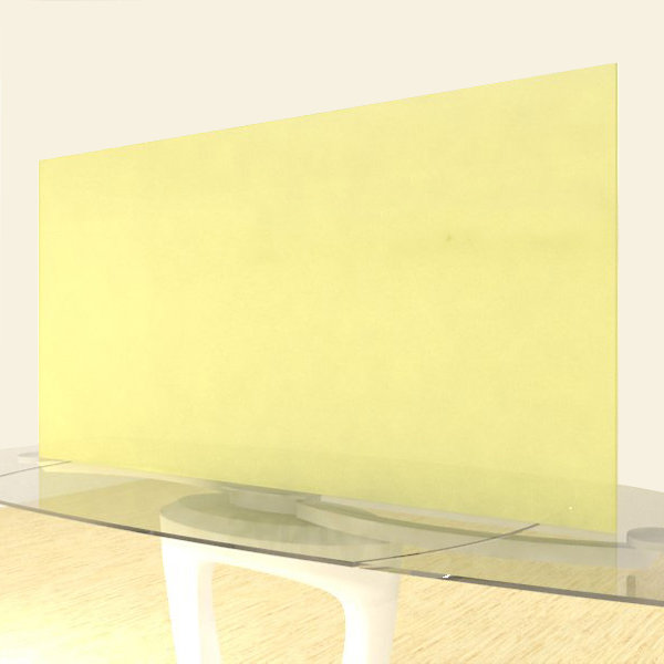 Acrylic Sheets – Cut To Size –  Single Frosted Yellow – S161