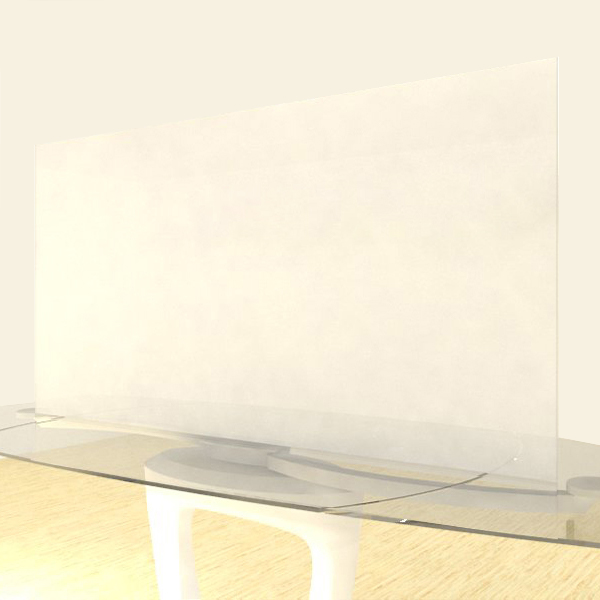 Acrylic Sheets – Cut To Size –  Frosted Translucent Clear/White – SS422