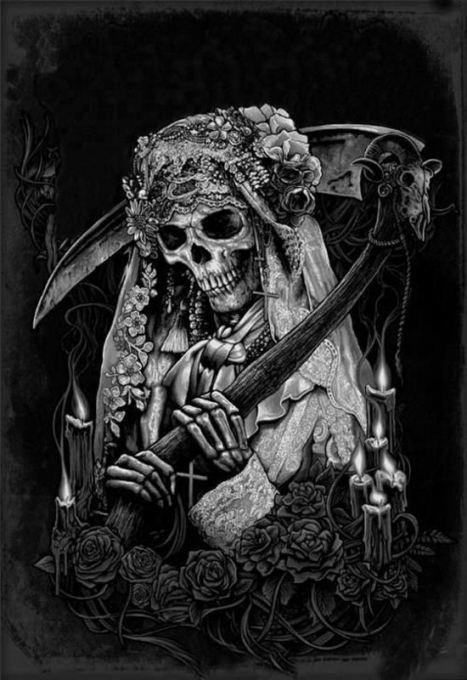 Santa Muerte Oraciones Blanca