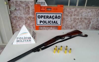 Homem é preso com arma de fogo em Itatiaiuçu
