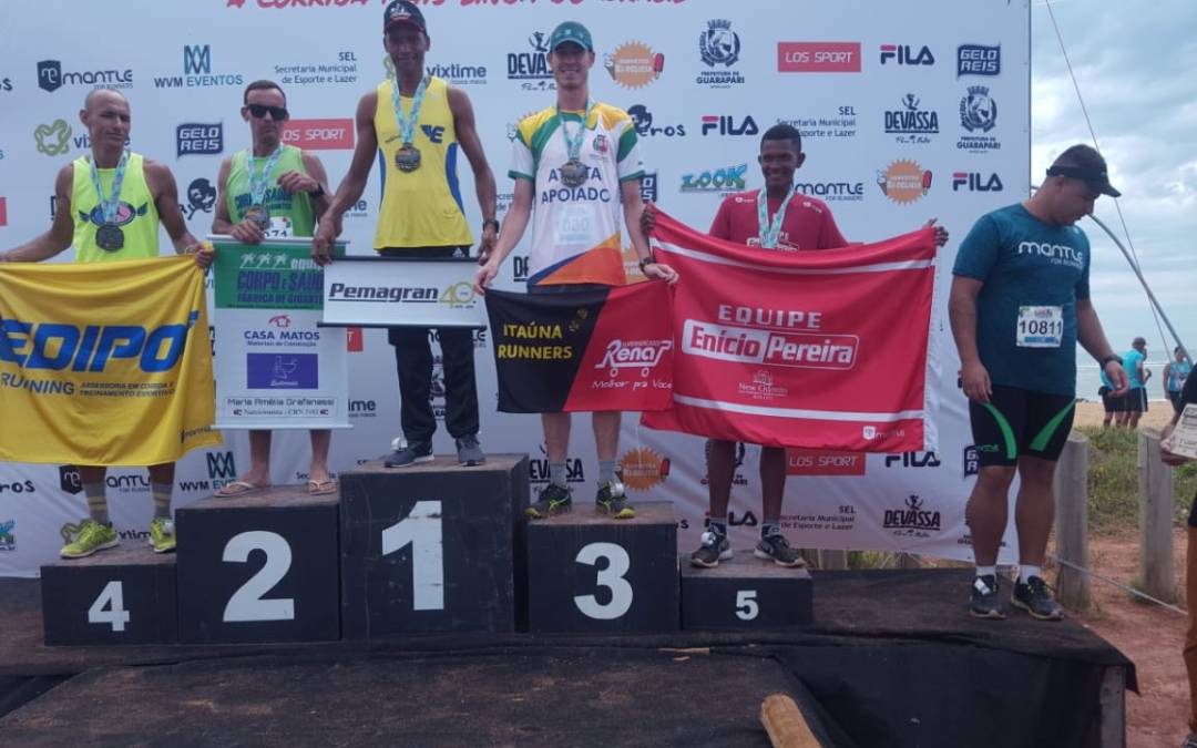Helbert Marques é destaque em meia maratona de Guarapari/ES