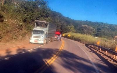 Motociclista morre em acidente na MG-431