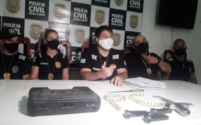 Itaúna: Suspeitos de homicídio e tentativa são detidos pela Polícia Civil