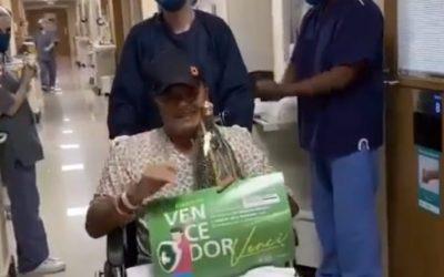 Cantor Gino recebe alta da UTI do Hospital 9 de Julho, em São Paulo