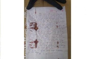 Em carta, Lázaro disse que não se entregaria à polícia