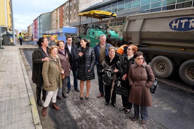 El Ayuntamiento acomete trabajos de asfaltado en la calle Simancas