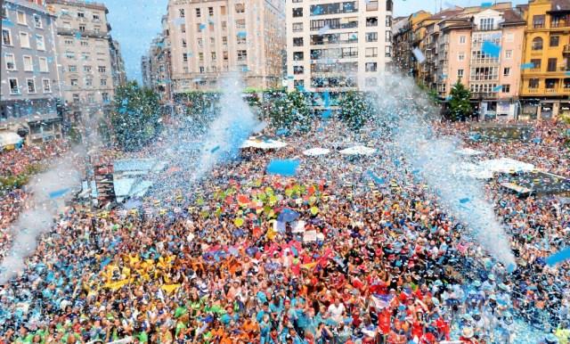 El chupinazo abre este viernes diez días de fiestas con actividades para todos los públicos