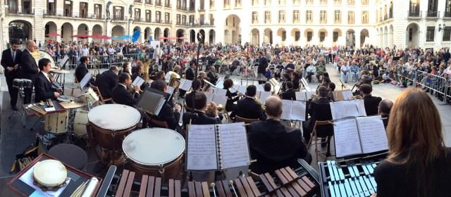 La Banda Municipal abrirá la Feria del Libro con un concierto dedicado a la literatura y el cine