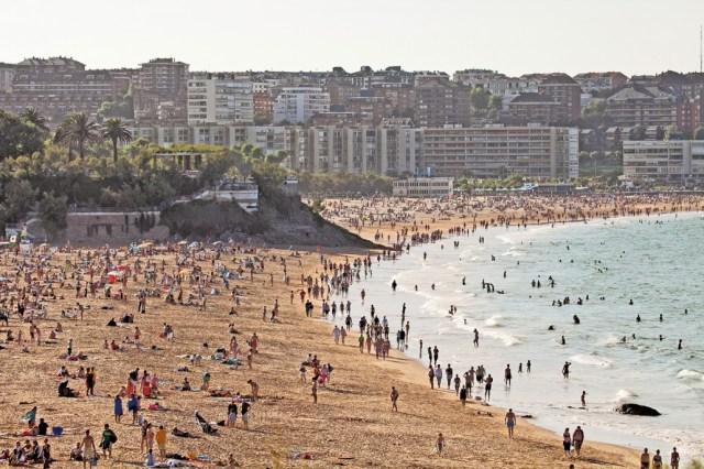 Las playas urbanas de Santander renuevan la 'Q' de calidad turística