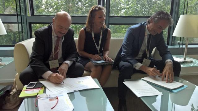 Santander presenta un nuevo proyecto de innovación tecnológica junto a Amiens y Dortmund