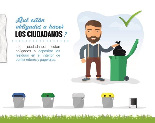 Arranca la campaña especial de limpieza con una fase informativa que durará un mes