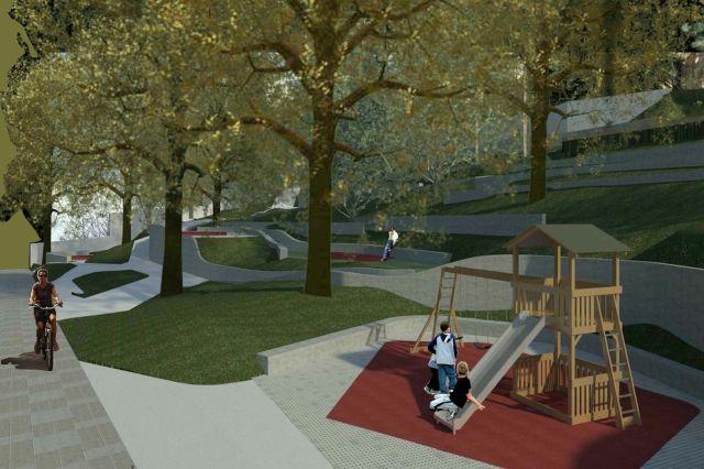 Las obras del parque de Menéndez Pelayo comenzarán en el plazo de un mes