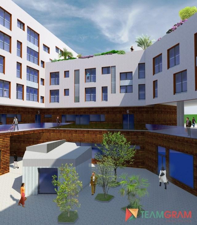 El Ayuntamiento cede a la SVS la parcela de Tabacalera para la construcción de 70 VPO