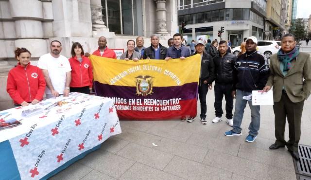 Las ONG apelan a la solidaridad de los santanderinos para enviar ayuda a Ecuador