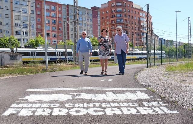El Museo del Ferrocarril estrena nueva señalización para facilitar el acceso