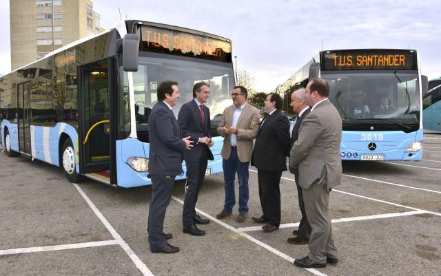El TUS incorpora dos nuevos autobuses más eficientes y accesibles