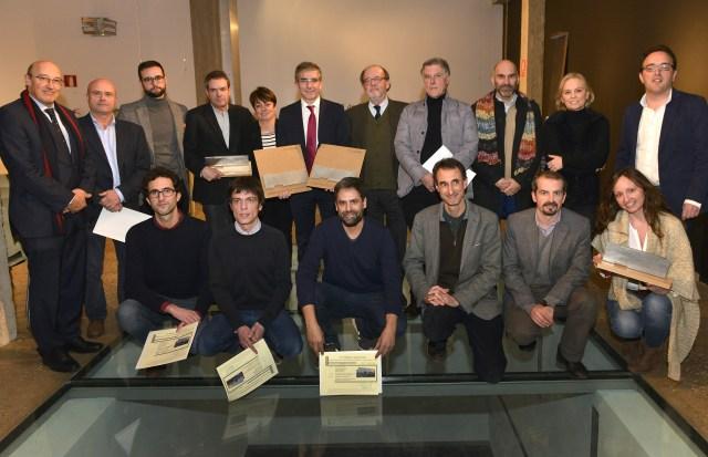 Las VPO de La Albericia, plaza Amaliach y Gamazo, premiados por el Colegio de Arquitectos