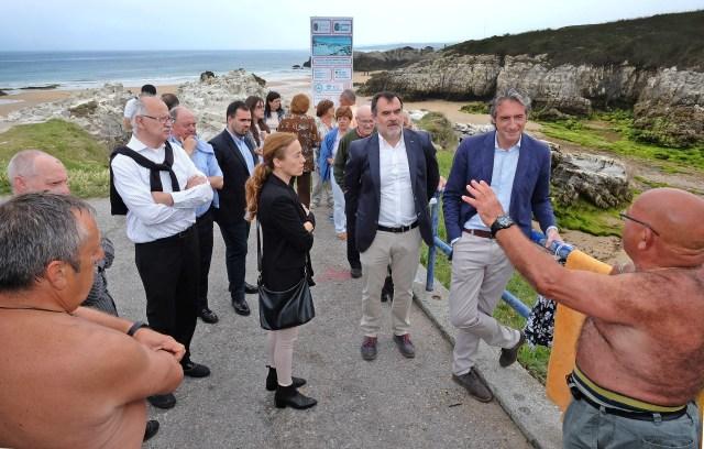 Costas iniciará en septiembre la mejora de la accesibilidad de la playa de la Virgen del Mar
