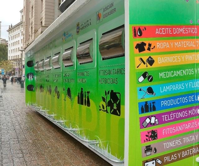 Los puntos limpios móviles recogieron más de 41.000 kilos de residuos en el primer semestre