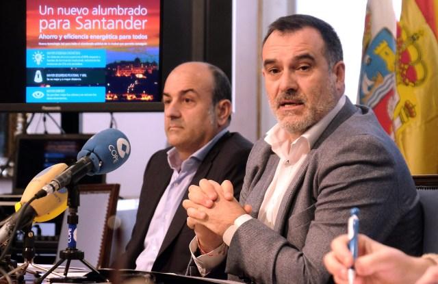 Santander inicia en marzo la instalación del nuevo alumbrado LED