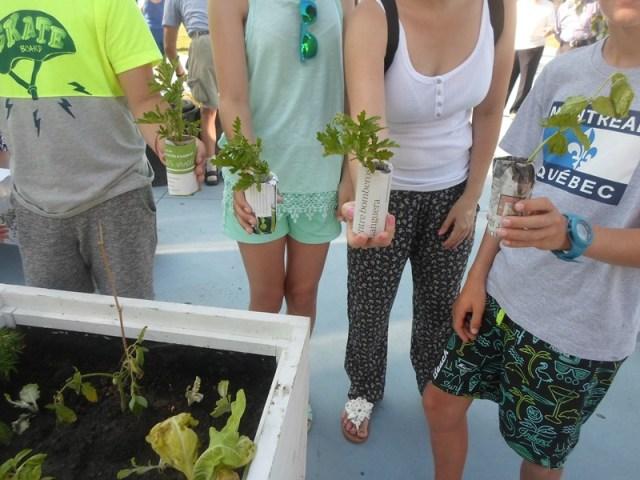 Los Huertos Sociales se suman a la Semana Grande con talleres ecológicos