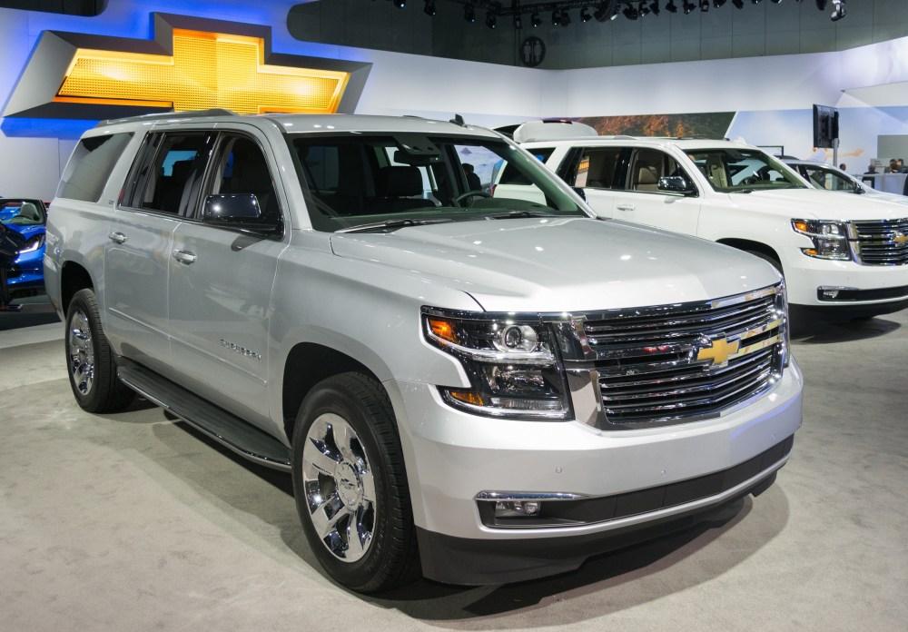 medium resolution of chevrolet suburban is the highest ranked domestic suv on list of longest lasting vehicles