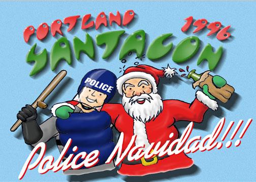 You'd Better Watch Out: Portland Santacon '96