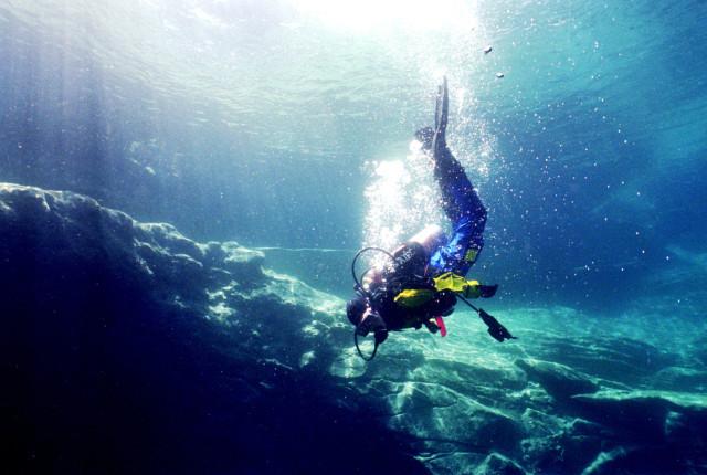 Scuba Diving at Blue Hole