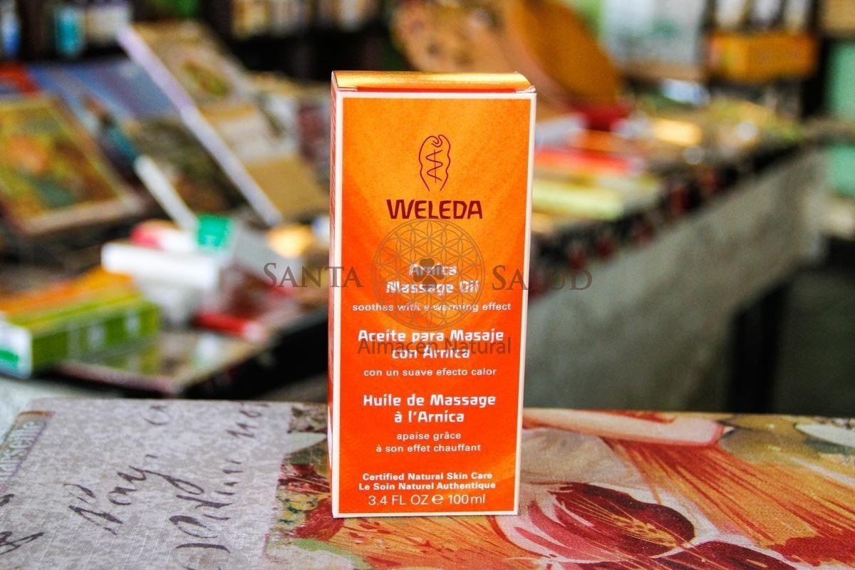 Aceite para masaje con rnica Weleda  Santa Salud
