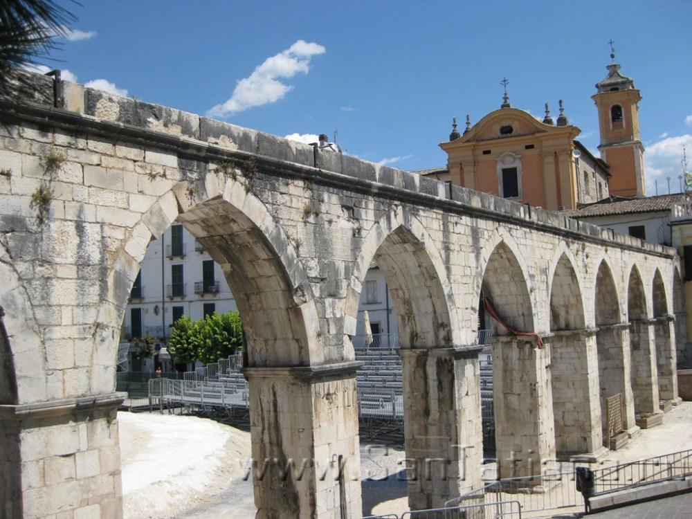 The Medieval Aqueduct in Sulmona
