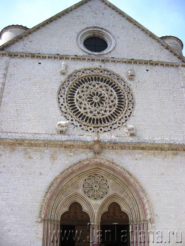 Фрески Джотто в базилике Сан Франческо в Ассизи (5/6)