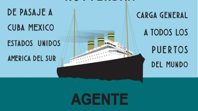 Historia del cartel de Holland America – Line [Lámina descargable]