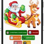 SantaTracker.net Home screen