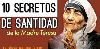 Foto Santa Madre Teresa de Calcuta frases santidad secretos imagen