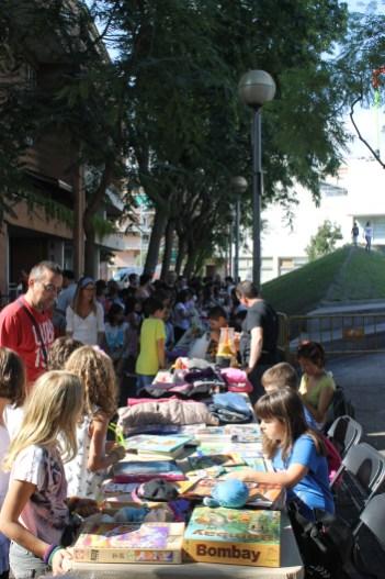 Un mercat d'intercanvi per nens i adults