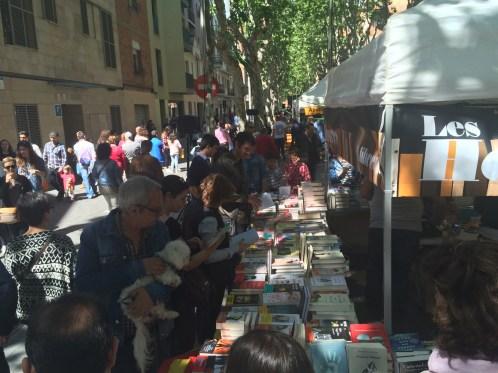 Imatges de la diada de Sant Jordi a Sant Boi // Marc Pidelaserra