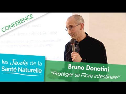 Conférence du Dr Donatini  : Protéger sa flore intestinal