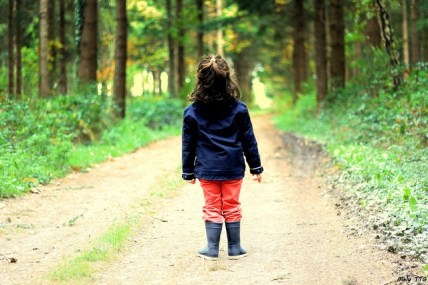 Bain forêt enfant shinrin-yoku