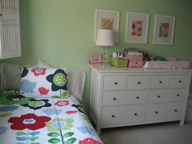 Polluants meubles - exemple d'une chambre d'enfants