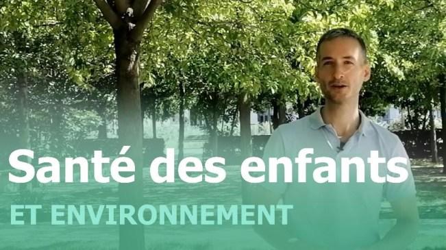 Youtube santé enfants environnement - présentation