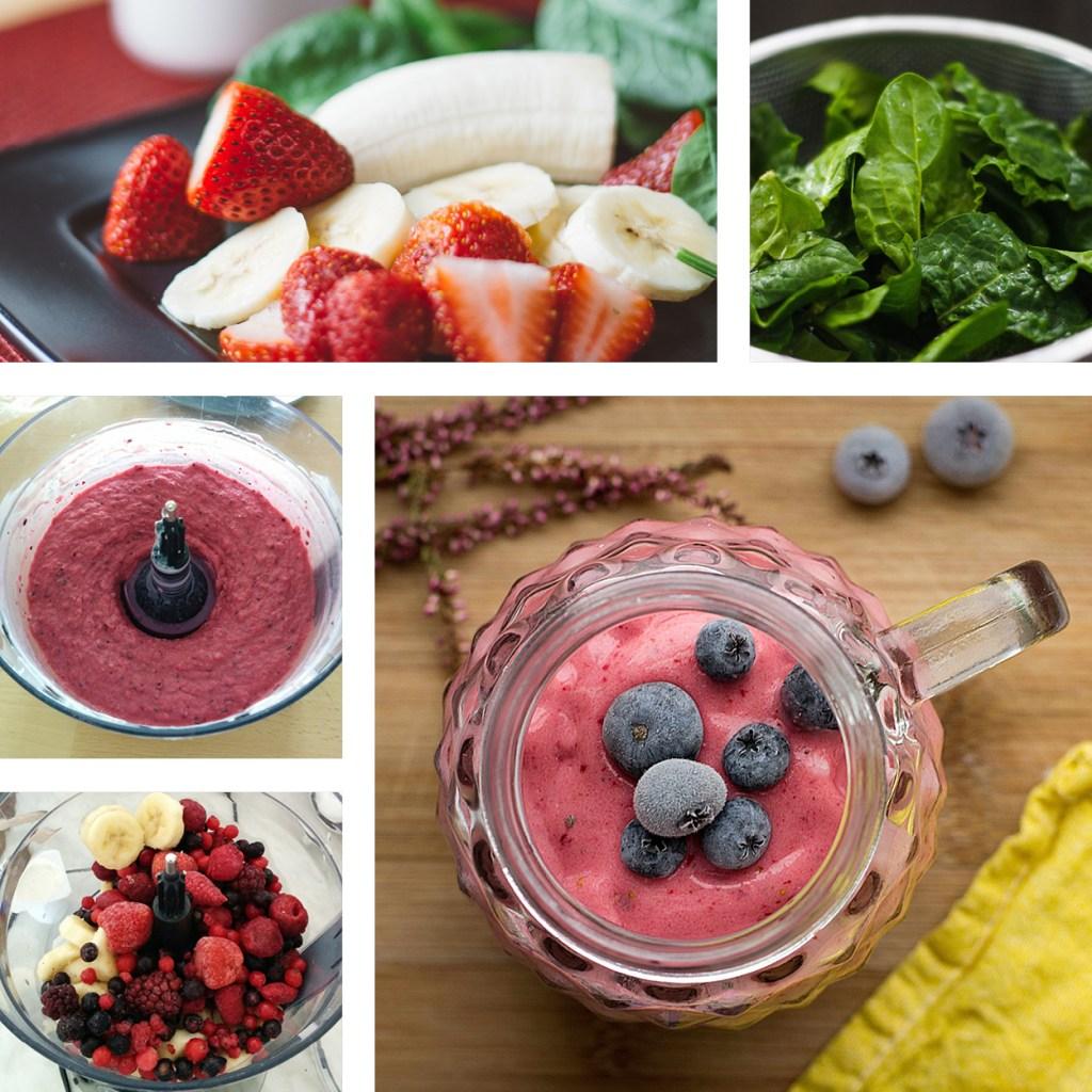 Smoothiebowl_epinards_fruits_rouges