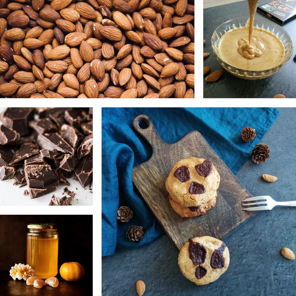 Cookies frangipane IG bas _ santé et gourmandise