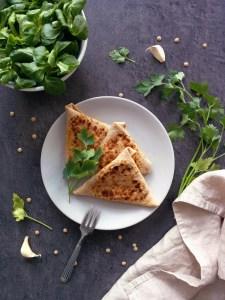 56 recettes IG bas et végétariennes _ Crepes garnies facon samosa _ santé et gourmandise
