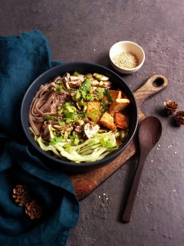 56 recettes IG bas et végétariennes _ Ramen _ santé et gourmandise