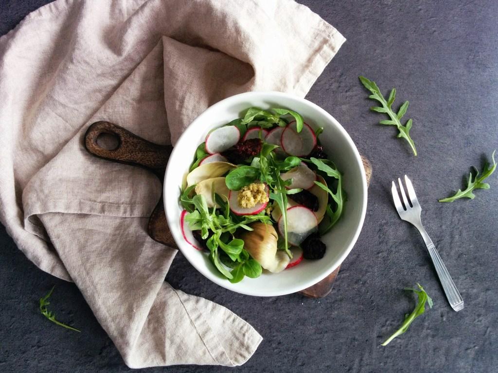 Salade printanière IG bas _ santé et gourmandise