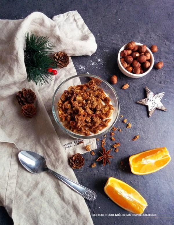 Trifle de Noël _ Ebook 30 recettes de Noël à IG bas